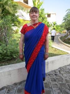 My wedding saree